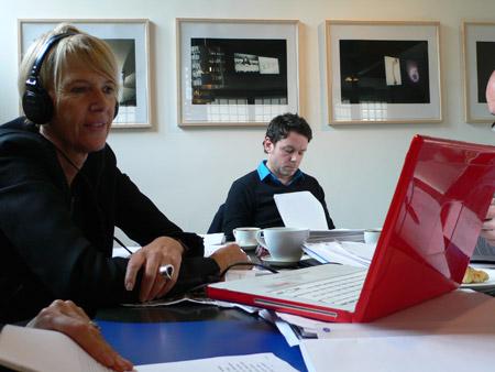 Premier comité artistique 2010