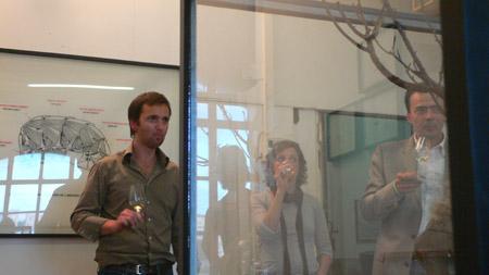 Visite de l'atelier d'Anthony Duchêne