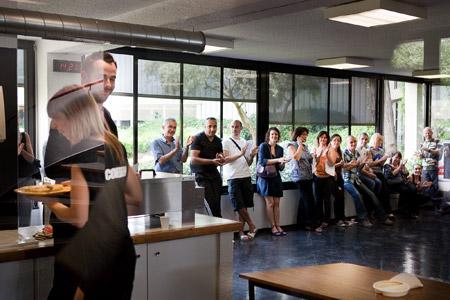 Présentation des projets lauréats aux salariés de Pébéo