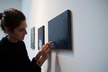 Exposition personnelle de Karine Rougier à Vacances Bleues