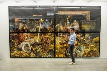Visite privée de l'exposition Echo Système de Gilles Barbier