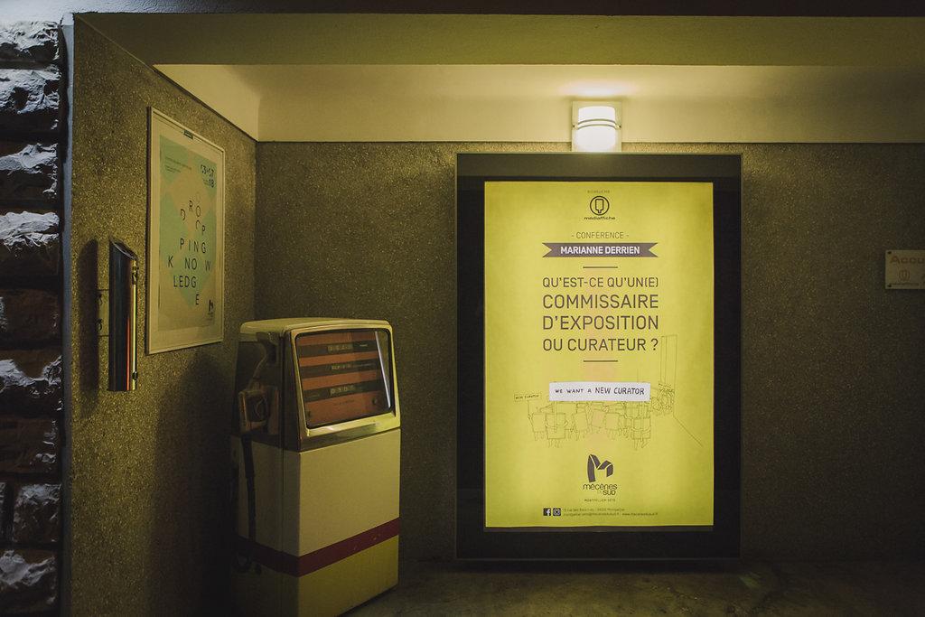 Souvenirs de la conférence de Marianne Derrien chez Médiaffiche - Photo par Elise Ortiou-Campion