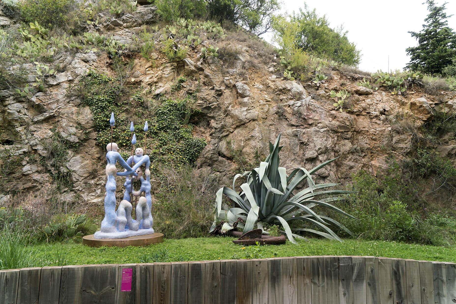 Zsófia Keresztes, Jardin du Musée Paul Valéry (Sète)