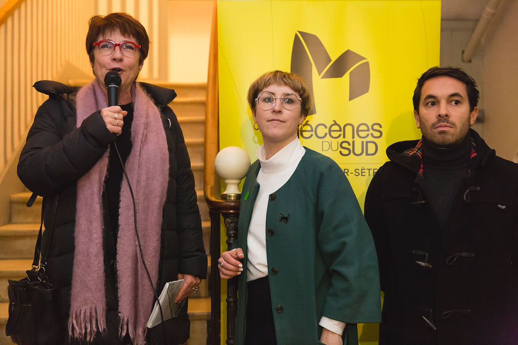 Corinne Leenhardt, Marine Lang, Adrien Rambier Mécènes du Sud