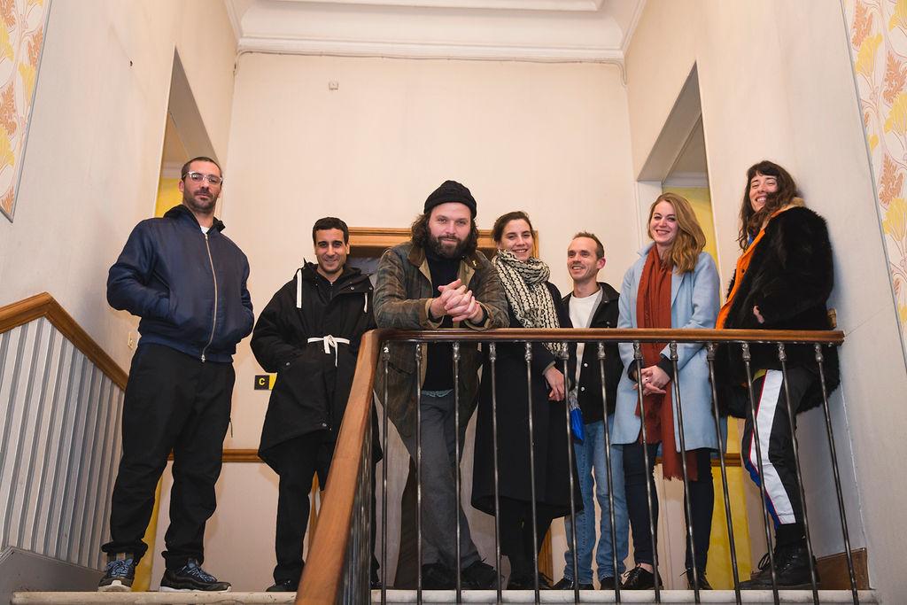Cindy Coutant, Tarik Kiswanson, Pierre Clément, Antwan Horfee, Nicolas Momein, Marie Applagnat & Lucie Liabeuf Mécènes du Sud