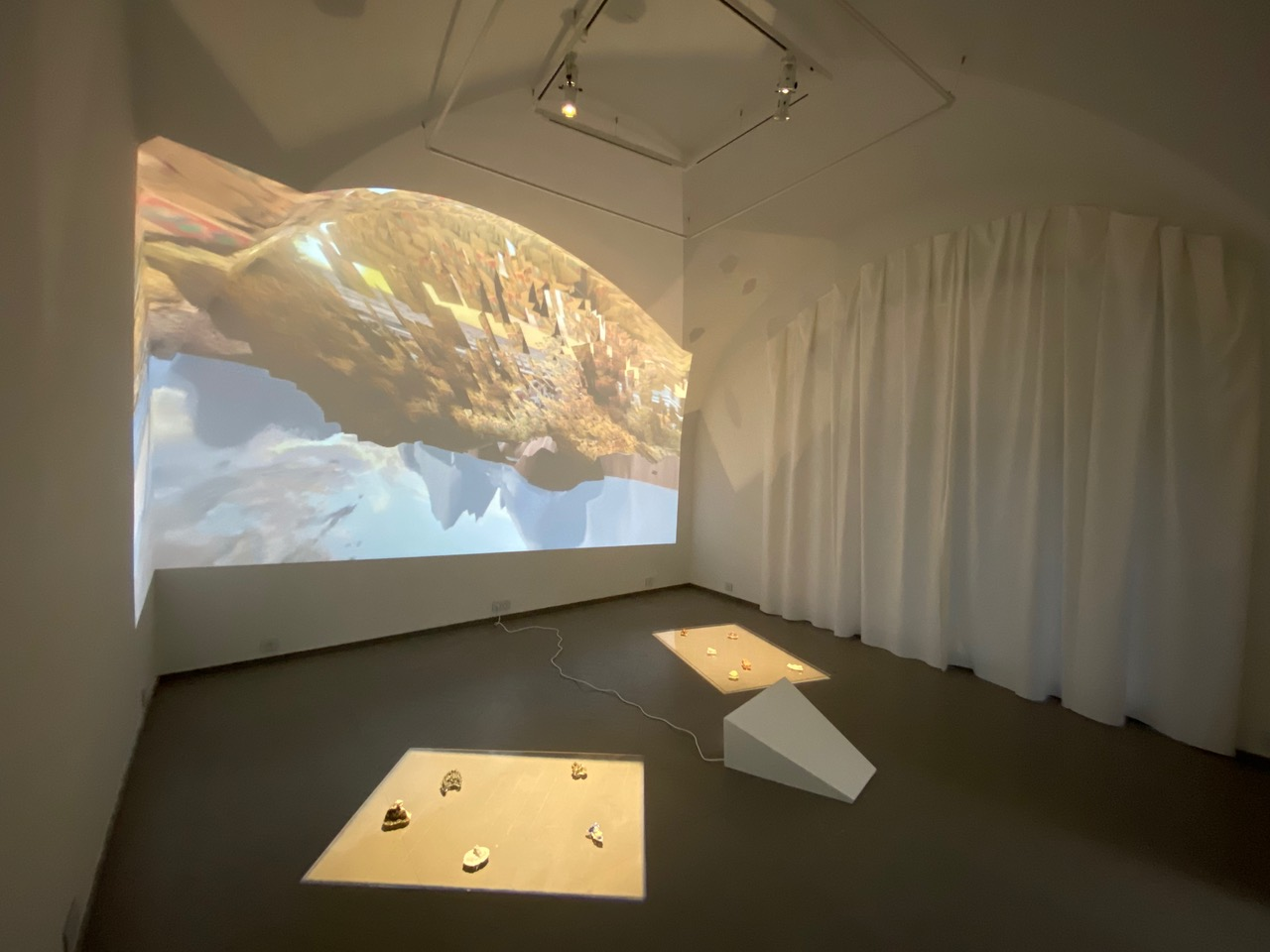Alix Desaubliaux, Géographies, installation, 2020