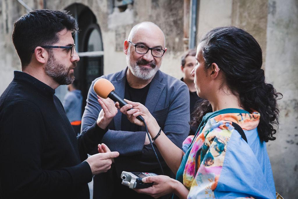 Thierry Fournier Pau Waelder Selphish Vernissage Elise Ortiou-Campion Mécènes du Sud Montpellier Sète