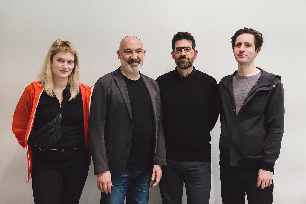 Alix Desaubliaux, Thierry Fournier, Pau Waelder, Martin John Callanan Elise Ortiou-Campion Mécènes du Sud Montpellier Sète