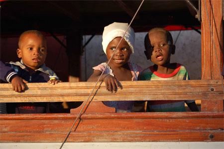 En création à Zanzibar