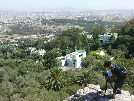 Tournage à Tanger
