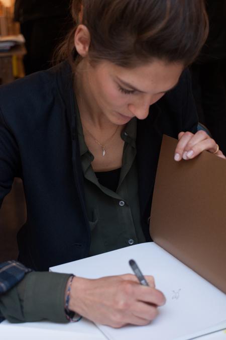 Ouverture publique de la résidence de Karine Rougier chez Vacances Bleues