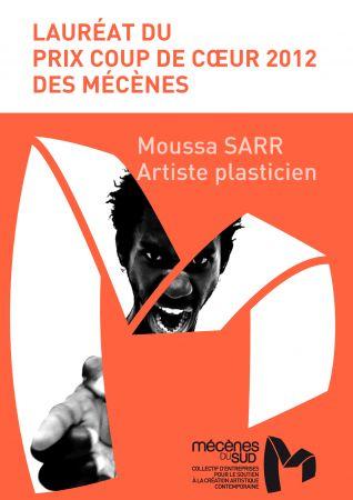 MOUSSA SARR, Prix Coup de Coeur des mécènes