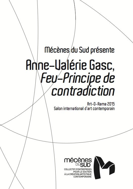Feu-Principe de contradiction - Anne-valérie Gasc, 2015