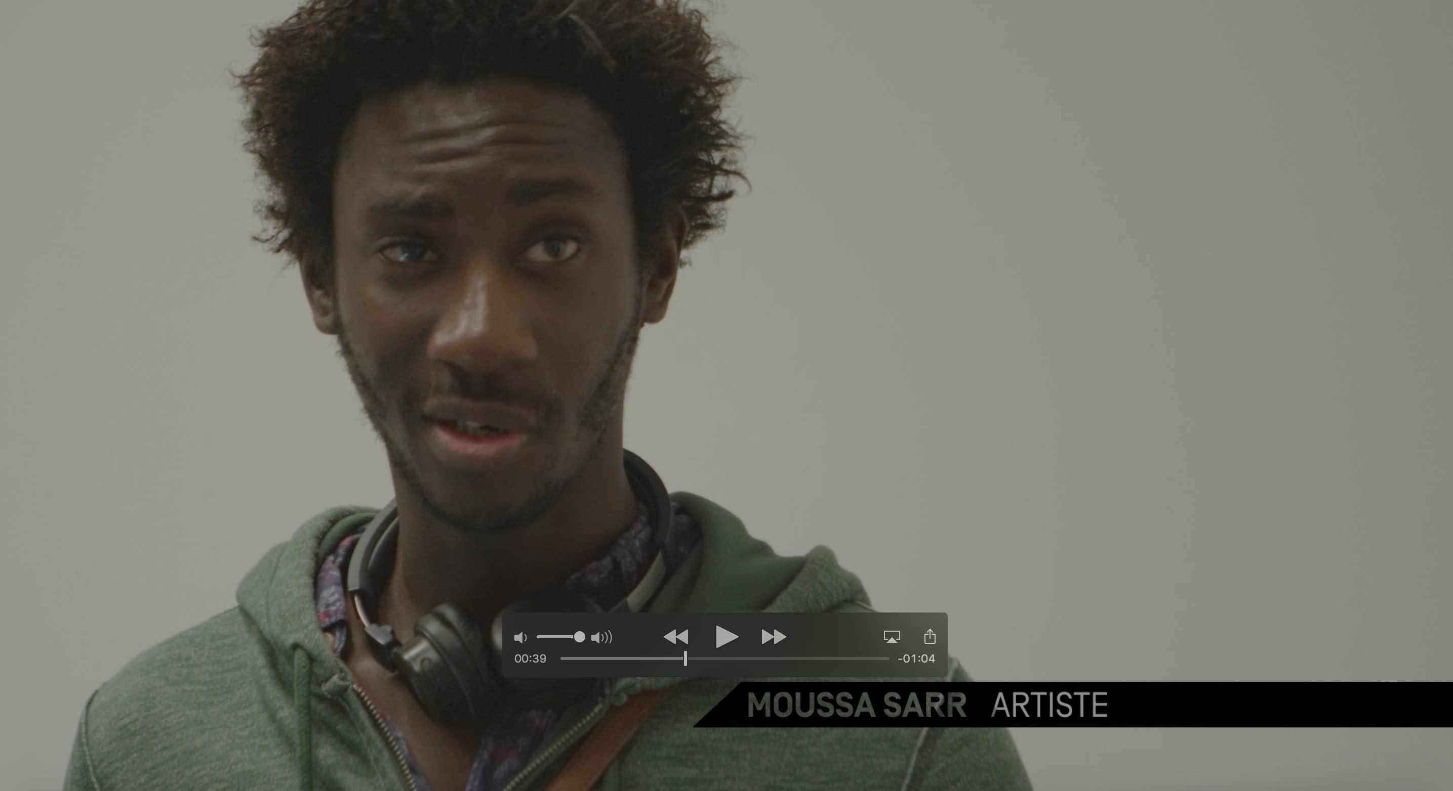 Moussa Sarr Mécènes du sud