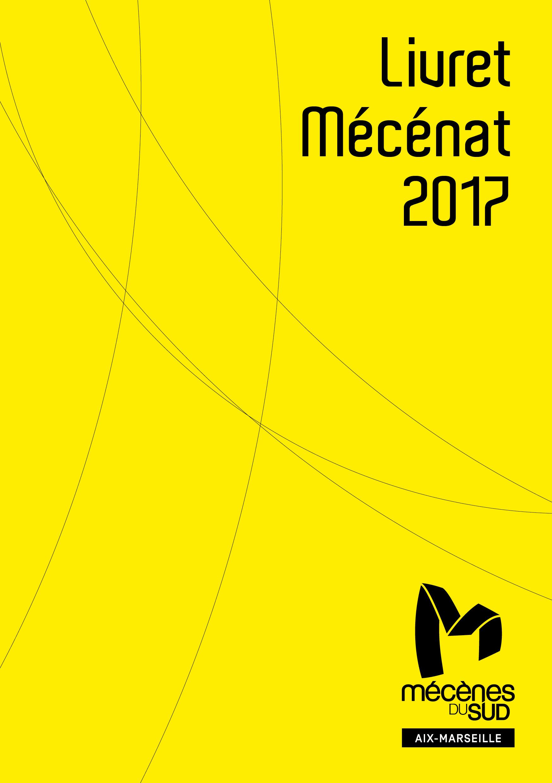 Livret Mécénat 2017