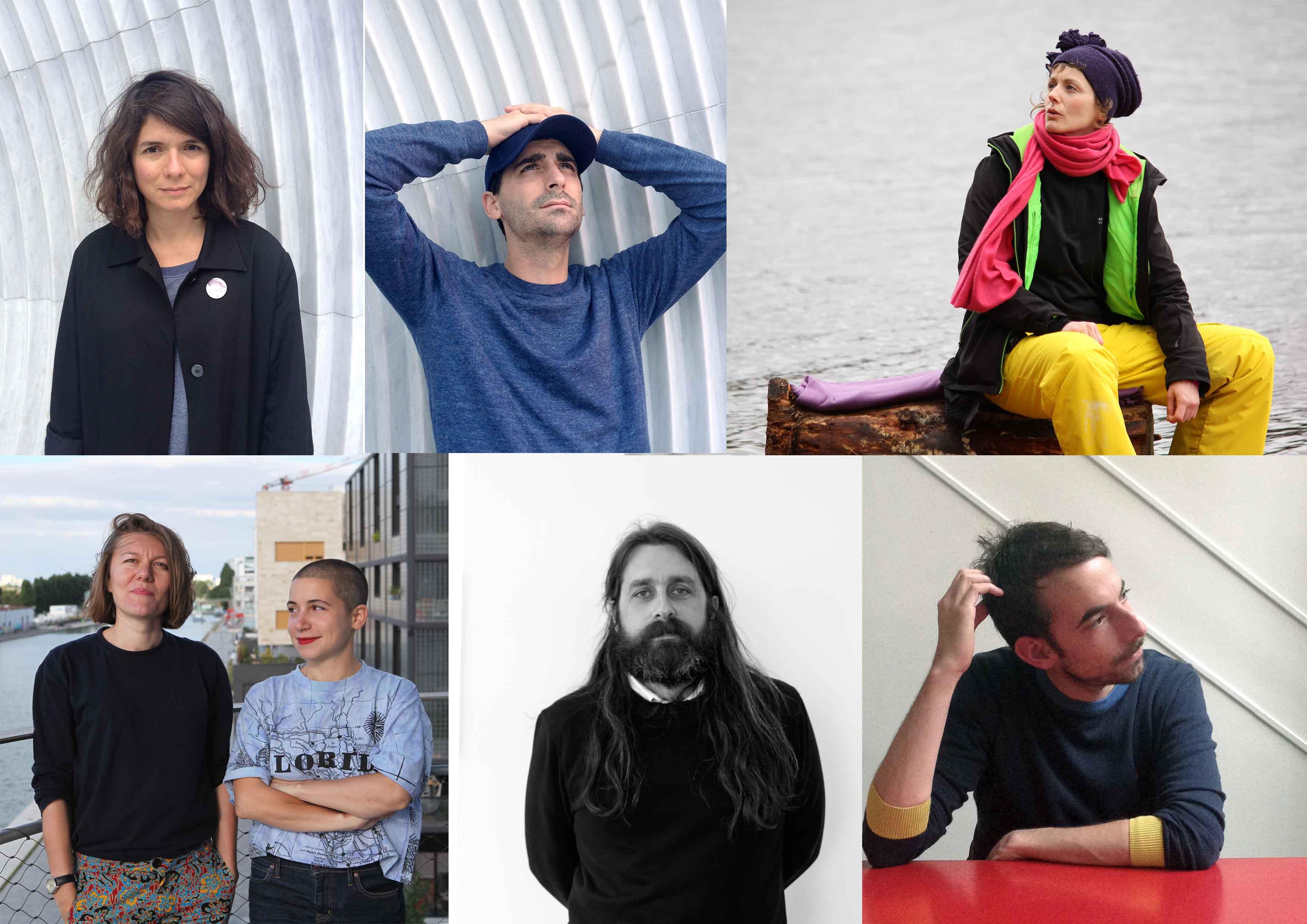 Célia Picard & Hannes Schreckensberger, Julie Chaffort, Victorine Grataloup & Diane Turquety, Olivier Kosta-Thefaine, Gabriel Desplanque