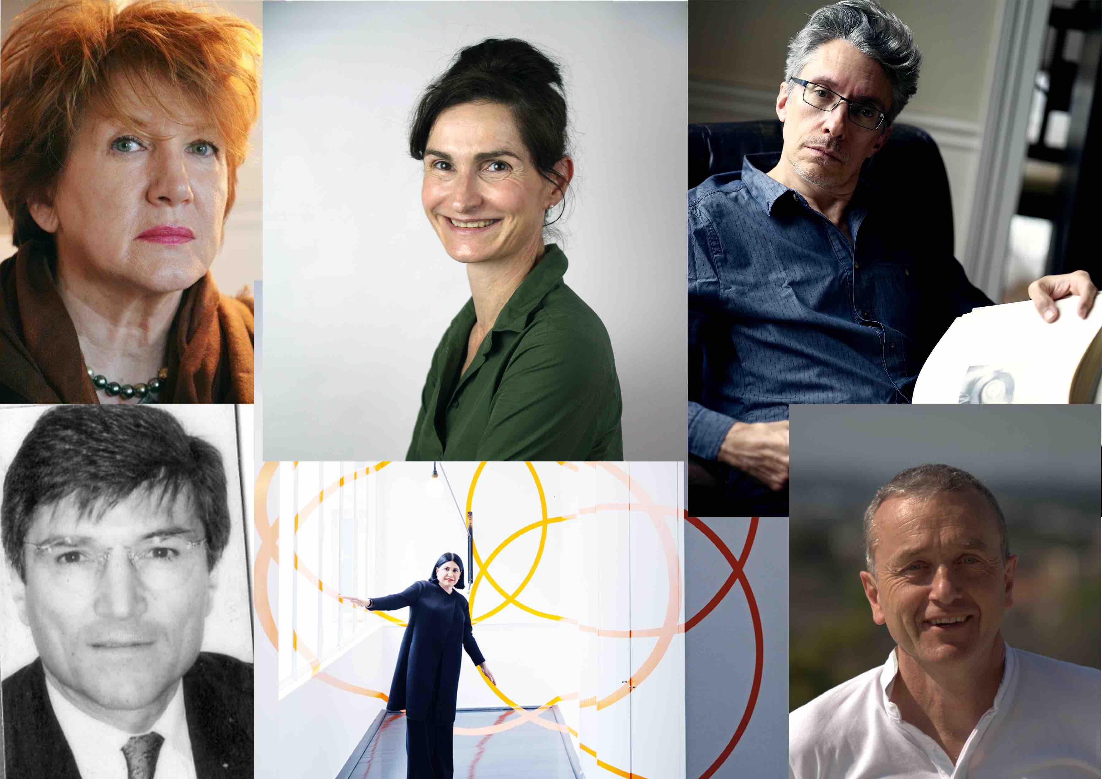 Brigitte Saby, Nathalie Moureau, Thierry Gontier, Jean-Claude Mosconi, Nadia Candet et Cyril Mercier