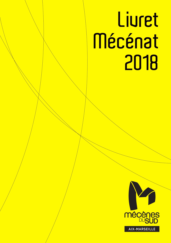 Couverture livret Mécènat 2018