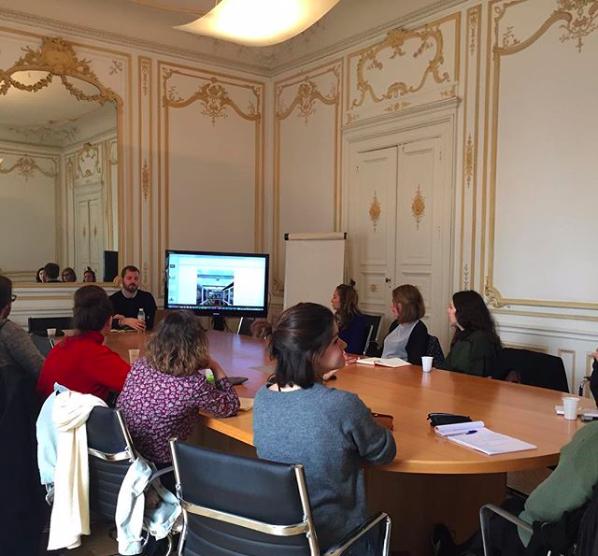 Mécènes du sud workshop ESBAMoCo Université Montpellier 3 Master CGDOAXX
