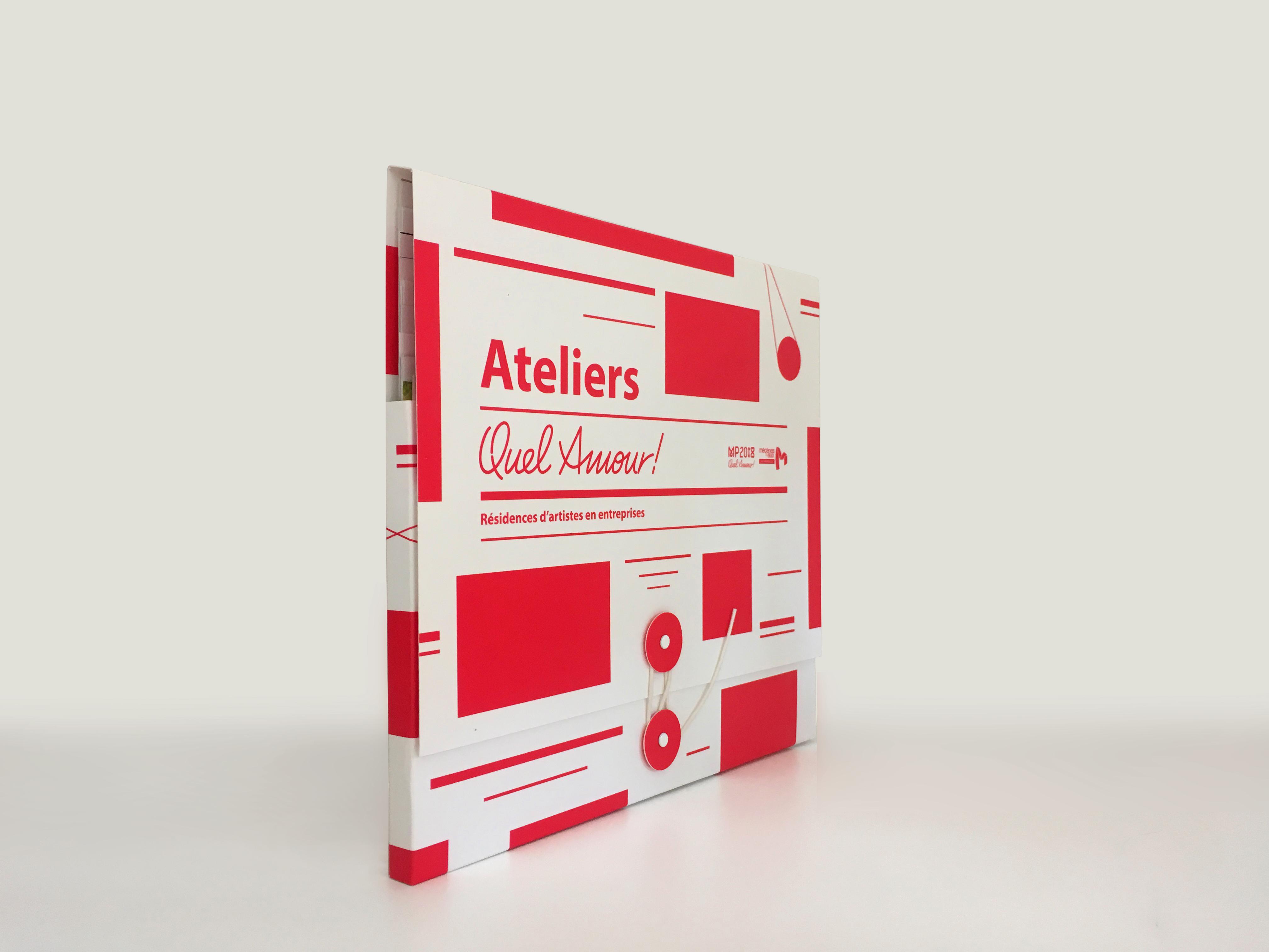 Carnet de voyage - Les Ateliers Quel Amour ! MP2018