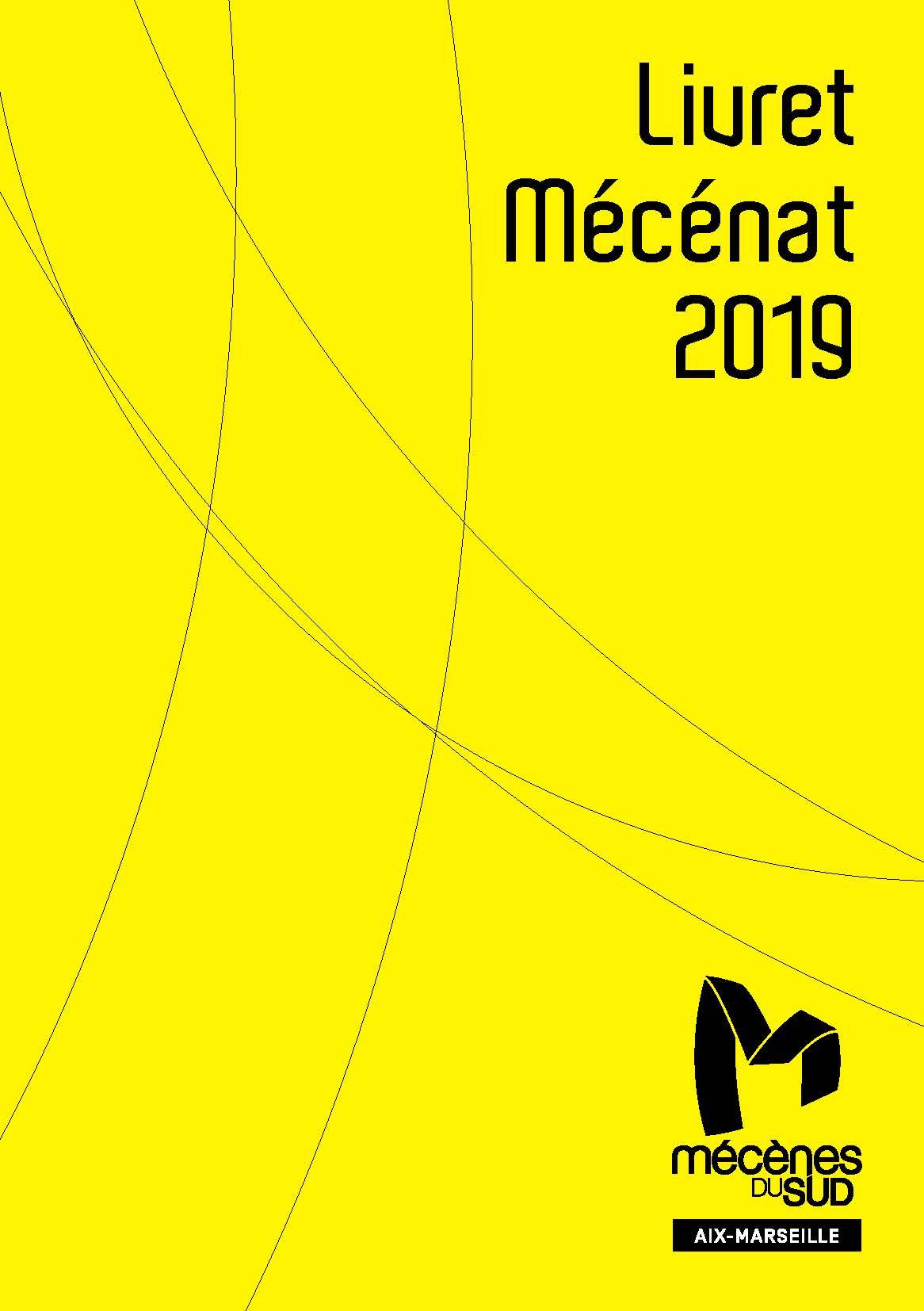 Couverture livret mécénat 2019