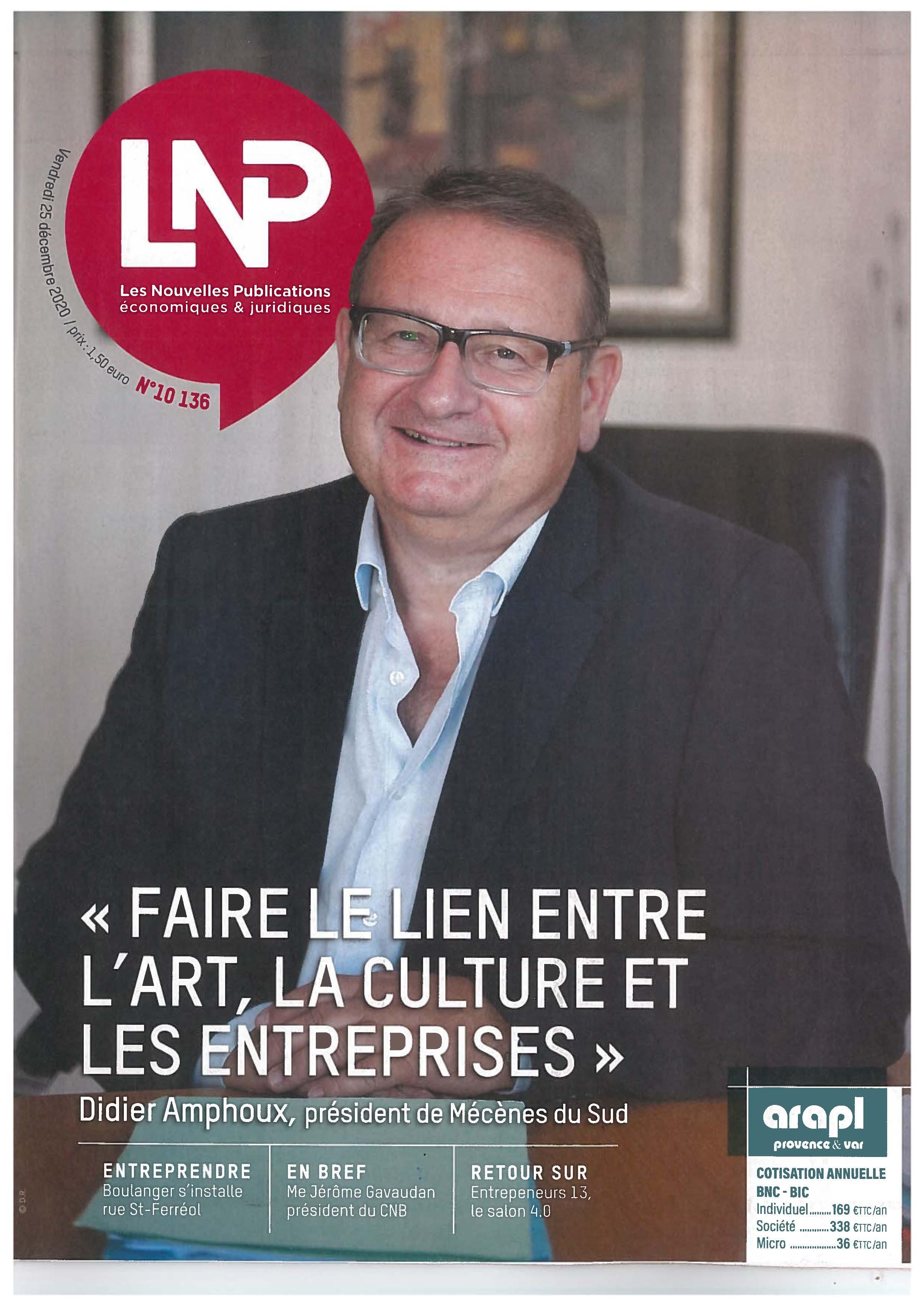 Interview de Didier Amphoux par Les Nouvelles Publications