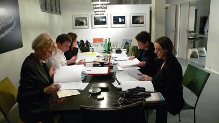 Premier Comité artistique 2009 à La Fabrique