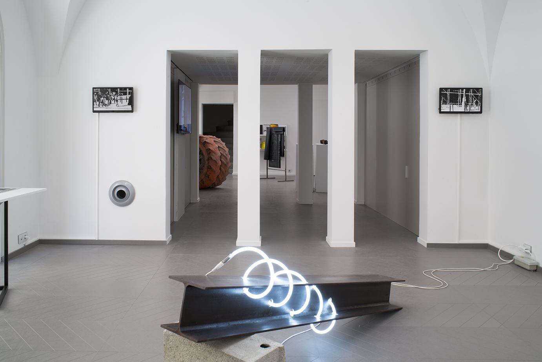 Vues d'expositions La Convergence des antipodes- Cédrick Eymenier (copyright)