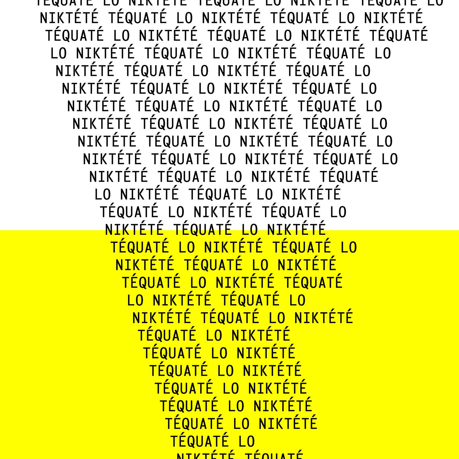Dossier de presse Téquaté LO Niktété - exposition à Montpellier
